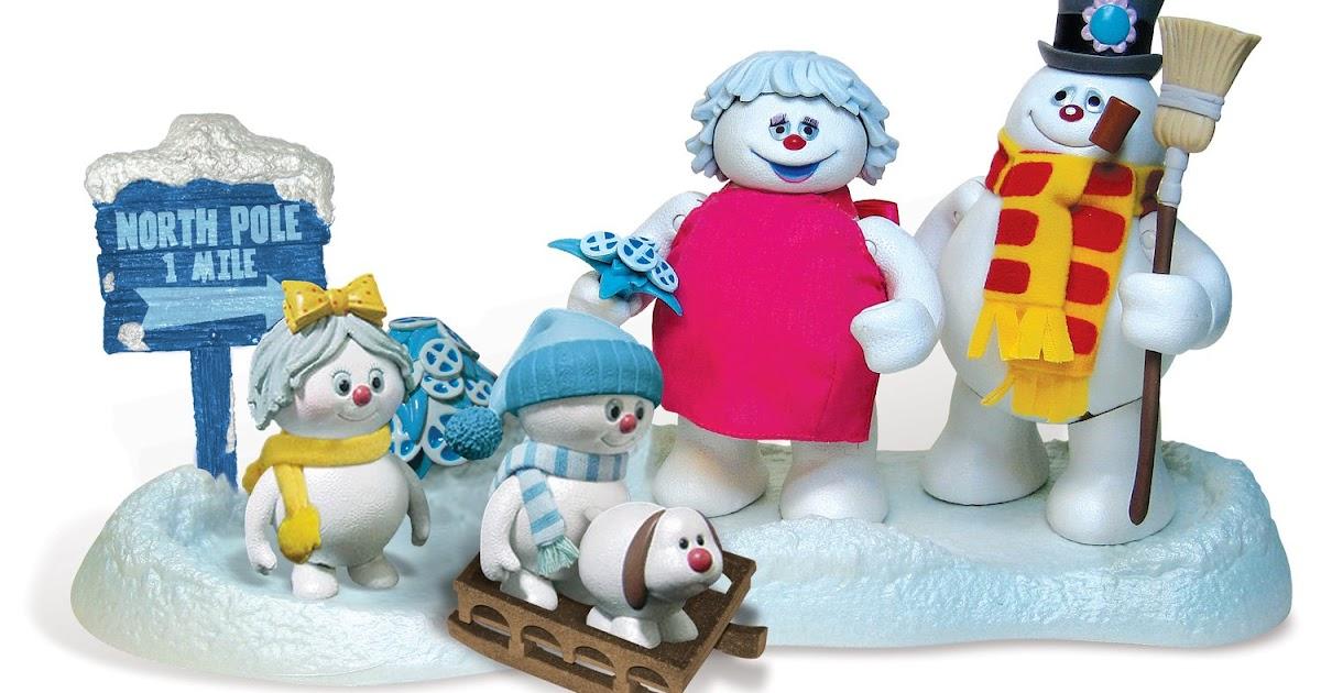 Rankin Bass Historian Frosty The Snowman Toys