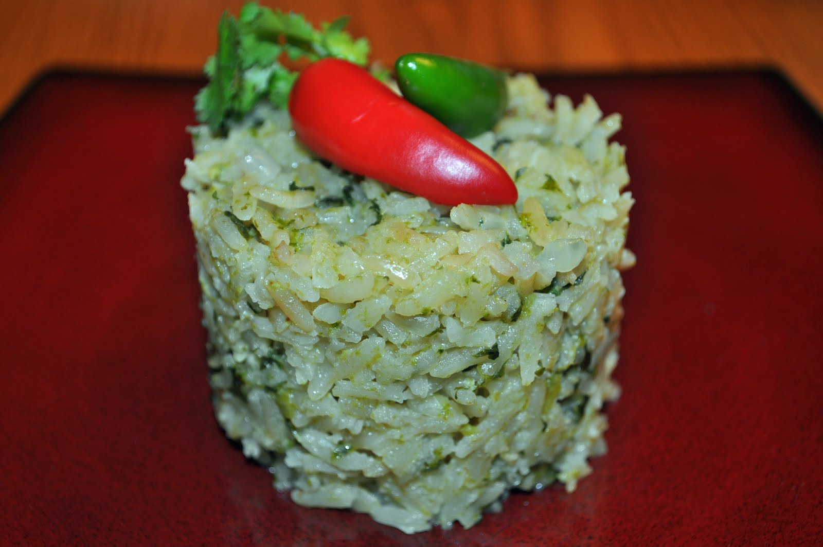 Cocina Verde Recipes My Cocina My Kitchen Arroz Verde Green Rice
