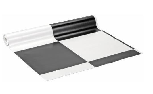 Vinyl vloerbedekking zwart wit: floer pvc click vinyl vloeren