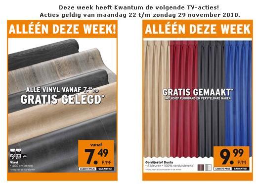 Vinyl Deze Week Gratis Gelegd Bij Kwantum