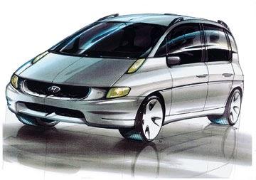 Port, Starboard, Forward and Aft: Pininfarina and Hyundai Matrix