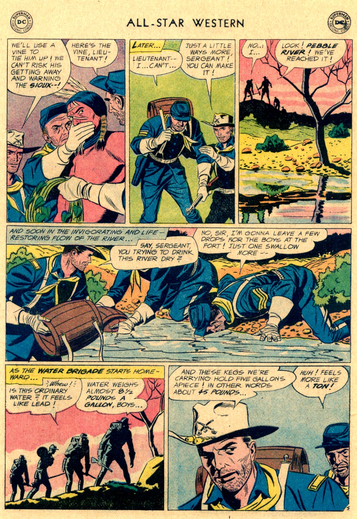 Read online All-Star Western (1951) comic -  Issue #112 - 20
