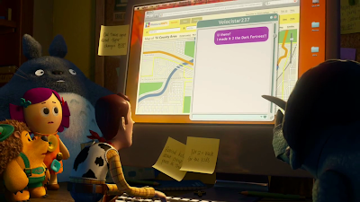 Totoro Cameo Appearance in Toy Story 3