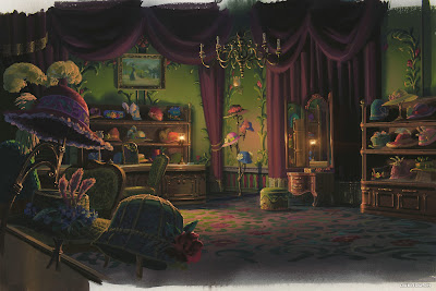 Howl's Moving Castle: Background Paintings