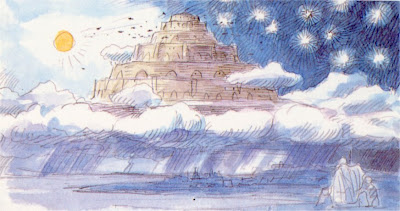 Hayao Miyazaki Image Boards For Castle in the Sky