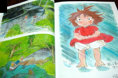 The Art of Ponyo on a Cliff by the Sea