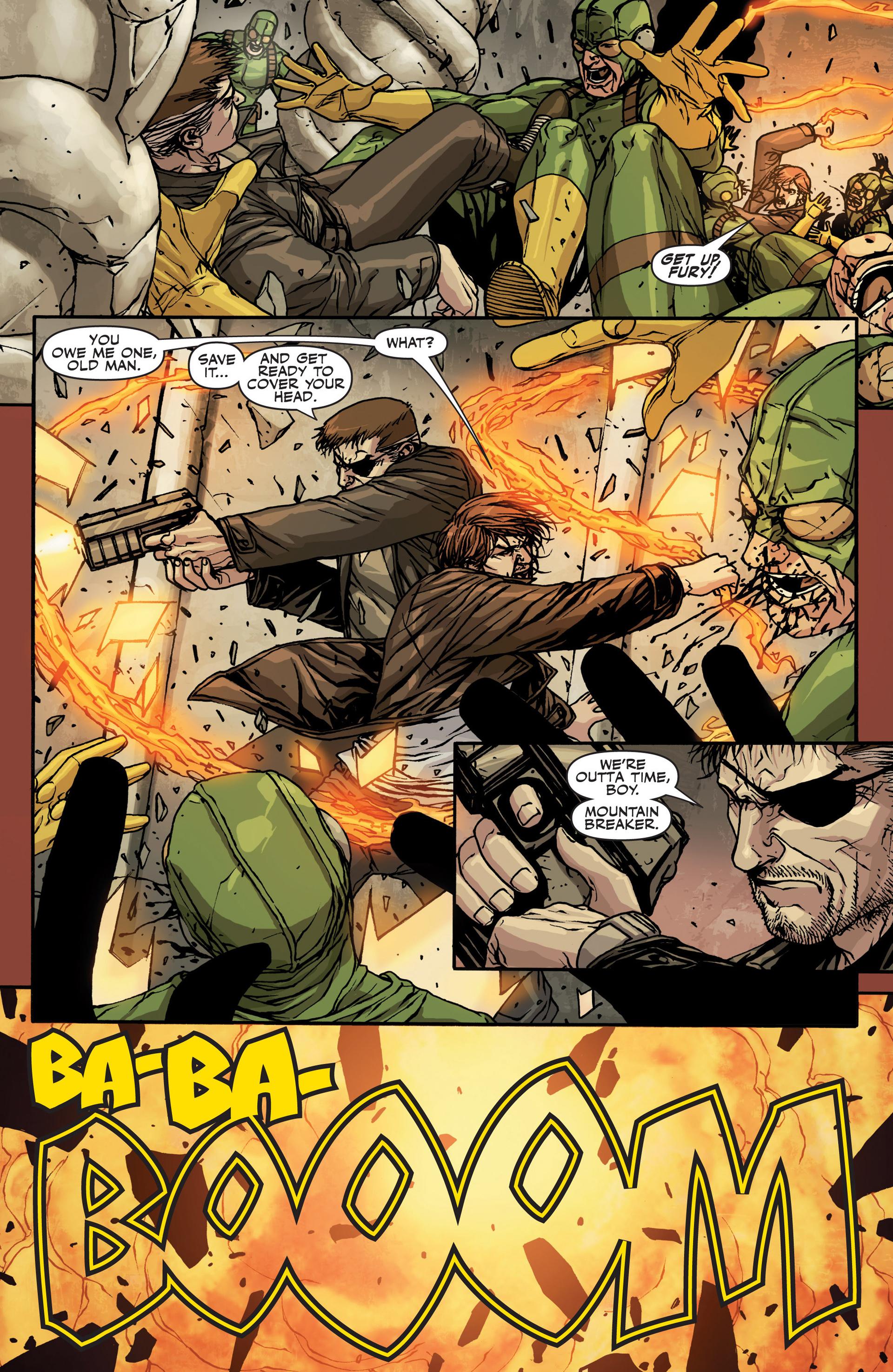 Read online Secret Warriors comic -  Issue #22 - 13