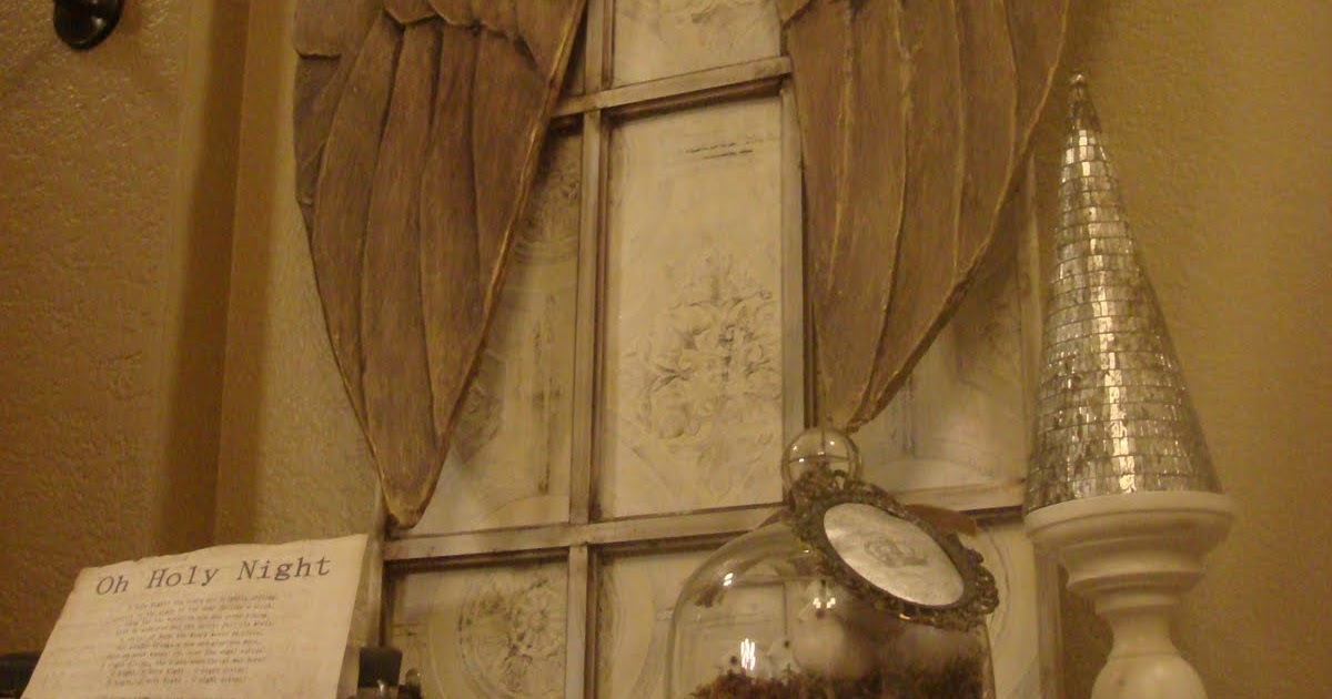 Let It Shine Carved Angel Wings