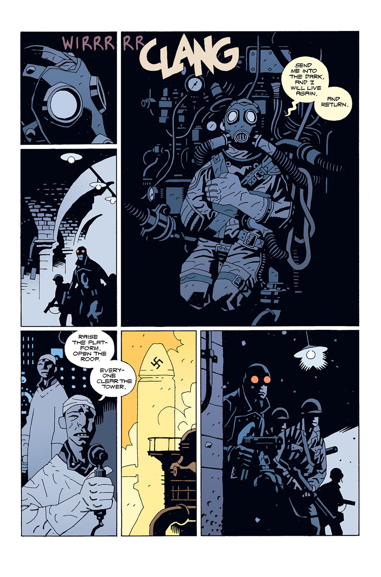 Read online Hellboy: Conqueror Worm comic -  Issue #1 - 7