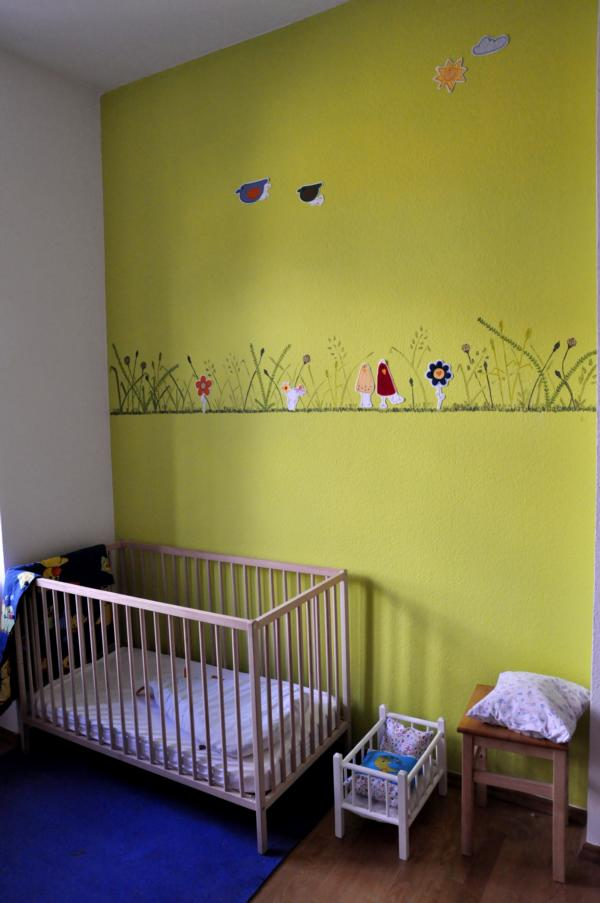 Kinderzimmer: Wandgestaltung