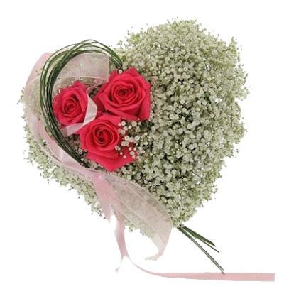 Resultado de imagen de corazones de flores