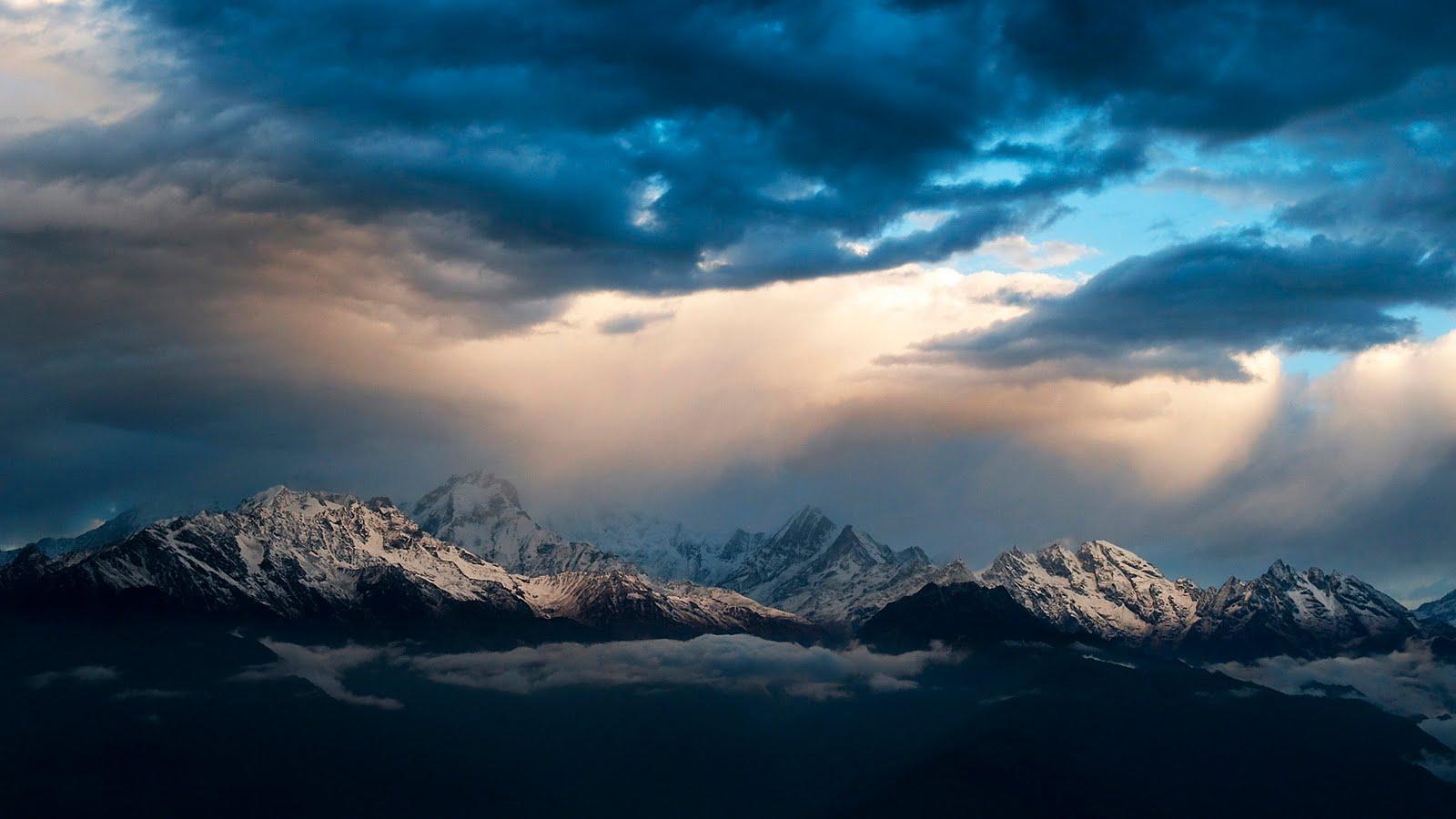 Montaña Nevada Hd: Idool Volcanes, Montañas Y Nevados III (11 Fondos O