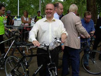 Roger Evans at last year's London Freewheel event