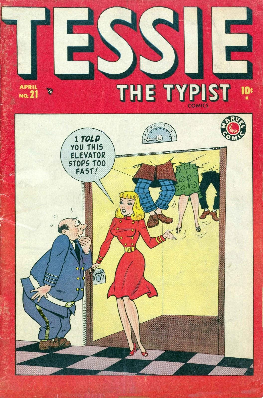 Tessie the Typist 21 Page 1