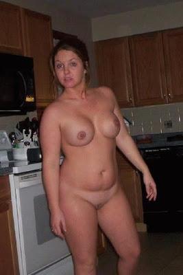 amateur posing topless