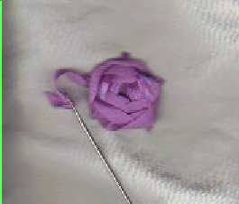 silk ribbon embroidery roses rose