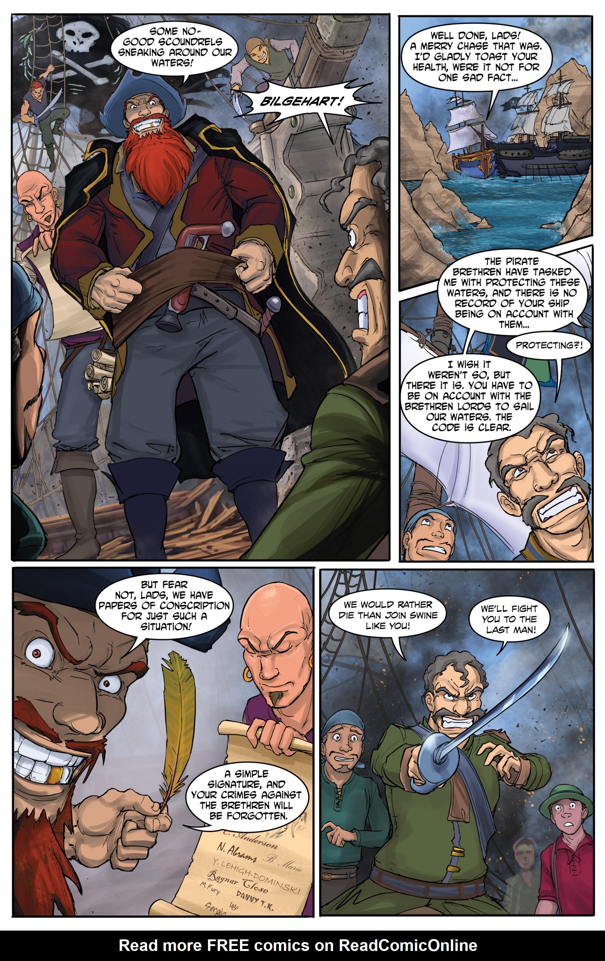 Read online Anne Bonnie comic -  Issue #4 - 4