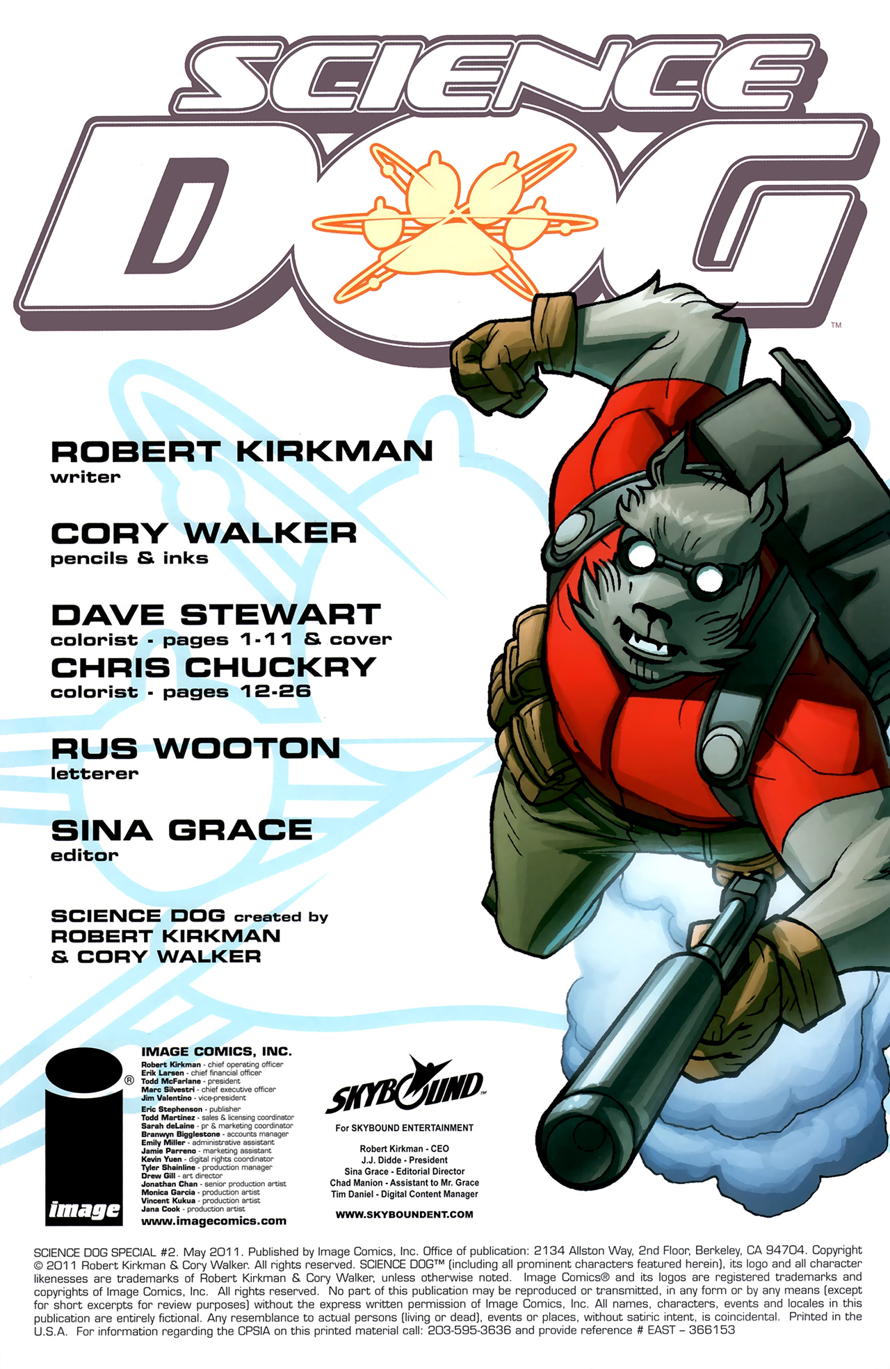 Read online Science Dog Special comic -  Issue #2 - 2