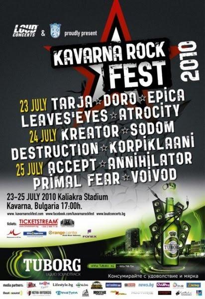 Heavy Metal Fire: KAVARNA ROCK FEST: SETLIST DE VOIVOD ...