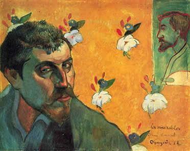 Gauguin, autorretrato