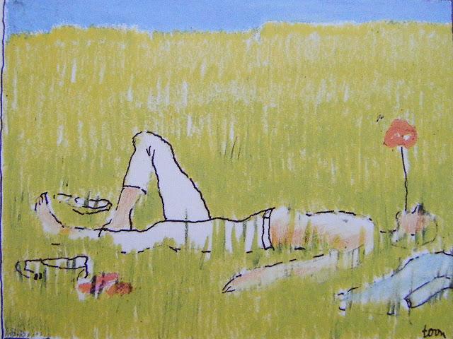 Afbeeldingsresultaat voor liggen in het gras