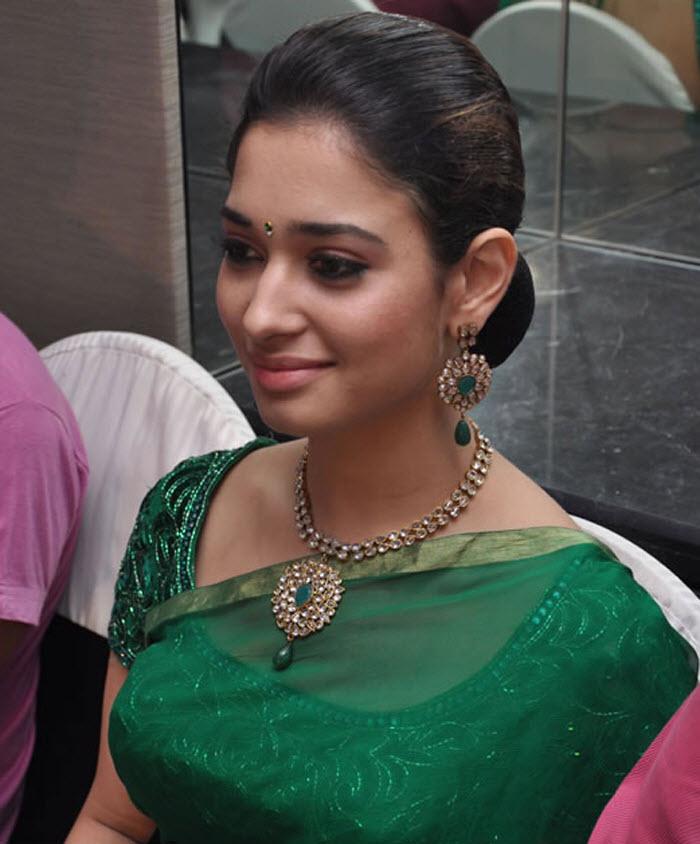 Hot Saree Actress  Saree Actress South Actress Tamanna -2894