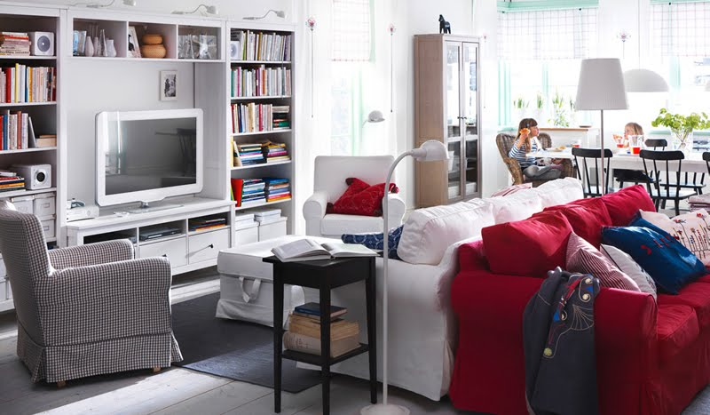 2011 IKEA Living Room Design Ideas - ellenslillehjorne