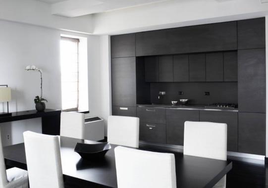 Black And White House Interior Design Rilex House