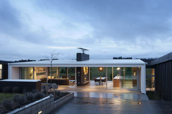 Modern Glass House Interior Designs | home office ... on Modern Glass House  id=34676
