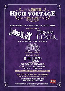 Black Country, Jethro Tull o MSG al High Voltage Festival