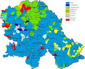 Mapy Uhorska A Slovenska Slovaci Vo Vojvodine