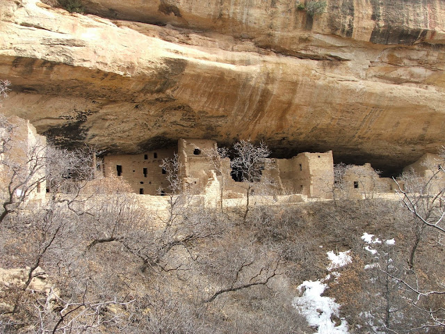 Spruce Tree House in Mesa Verde National Park
