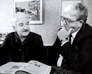 Hasse Alfredsson och Lasse Holmqvist