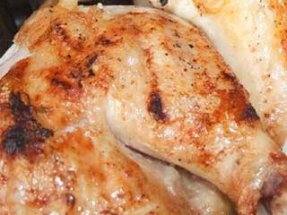 Färdigstekt Kyckling