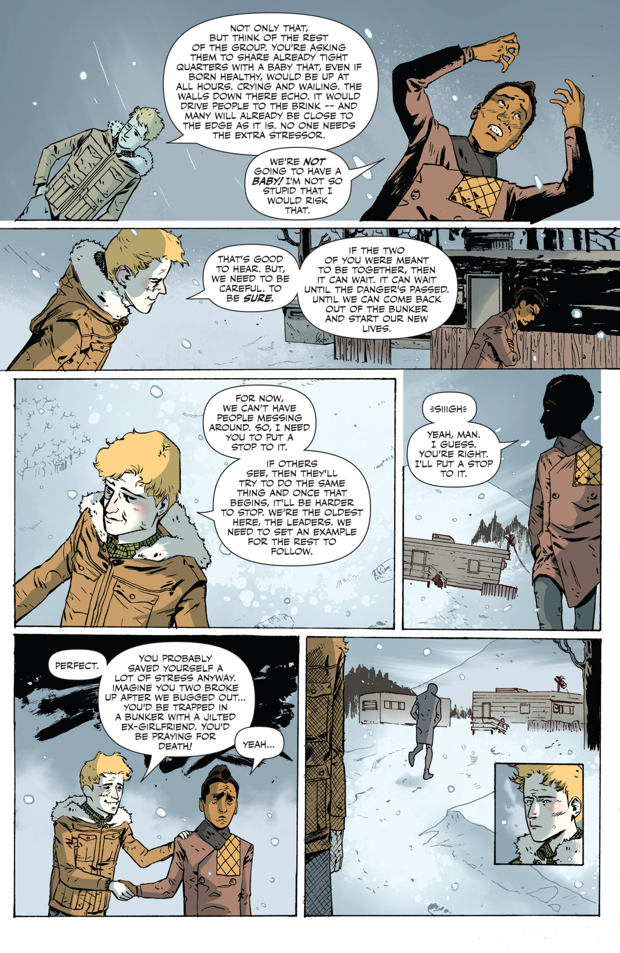 Read online Sheltered comic -  Issue #5 - 13