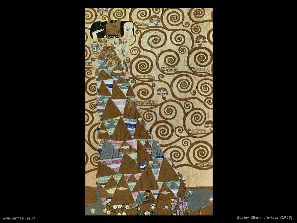 Klimt Fregio Stoclet Passions And Emotions Through Colours Gustav Klimt