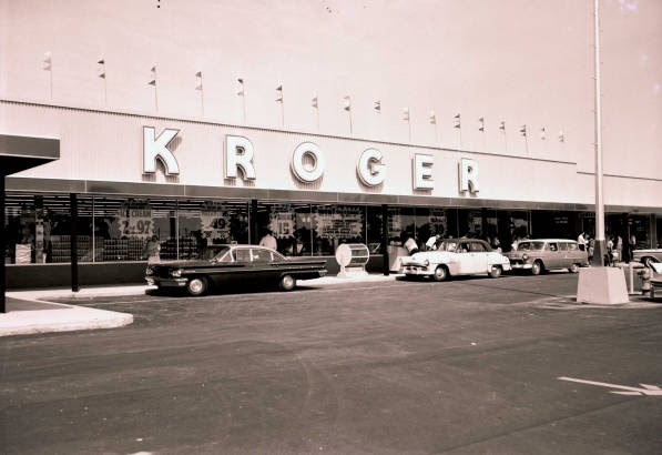 Pleasant Family Shopping A Tale Of Kroger Old And New
