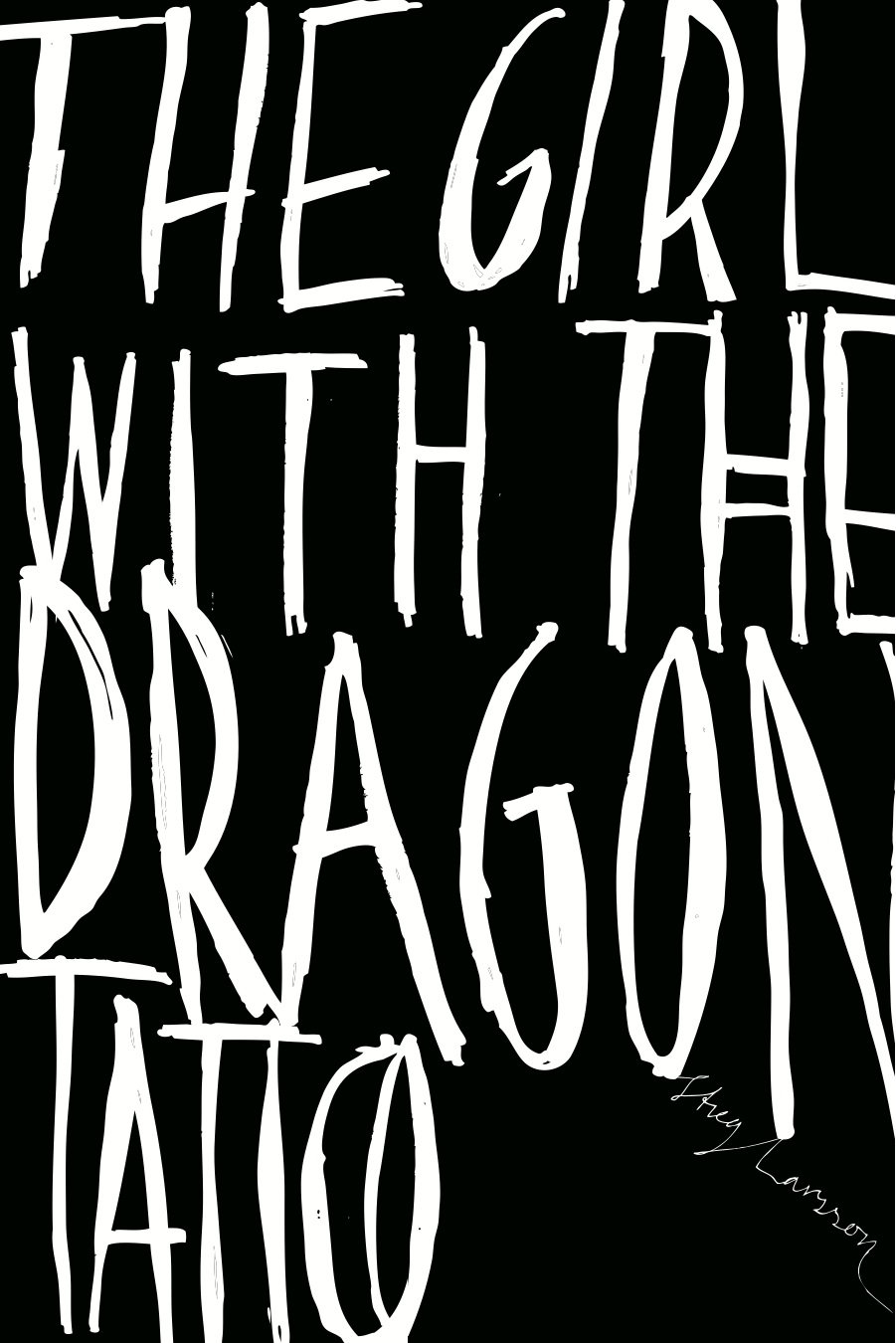Maren Gyllenhammar Raaum's Cover for 'Girl with the Dragon Tattoo'