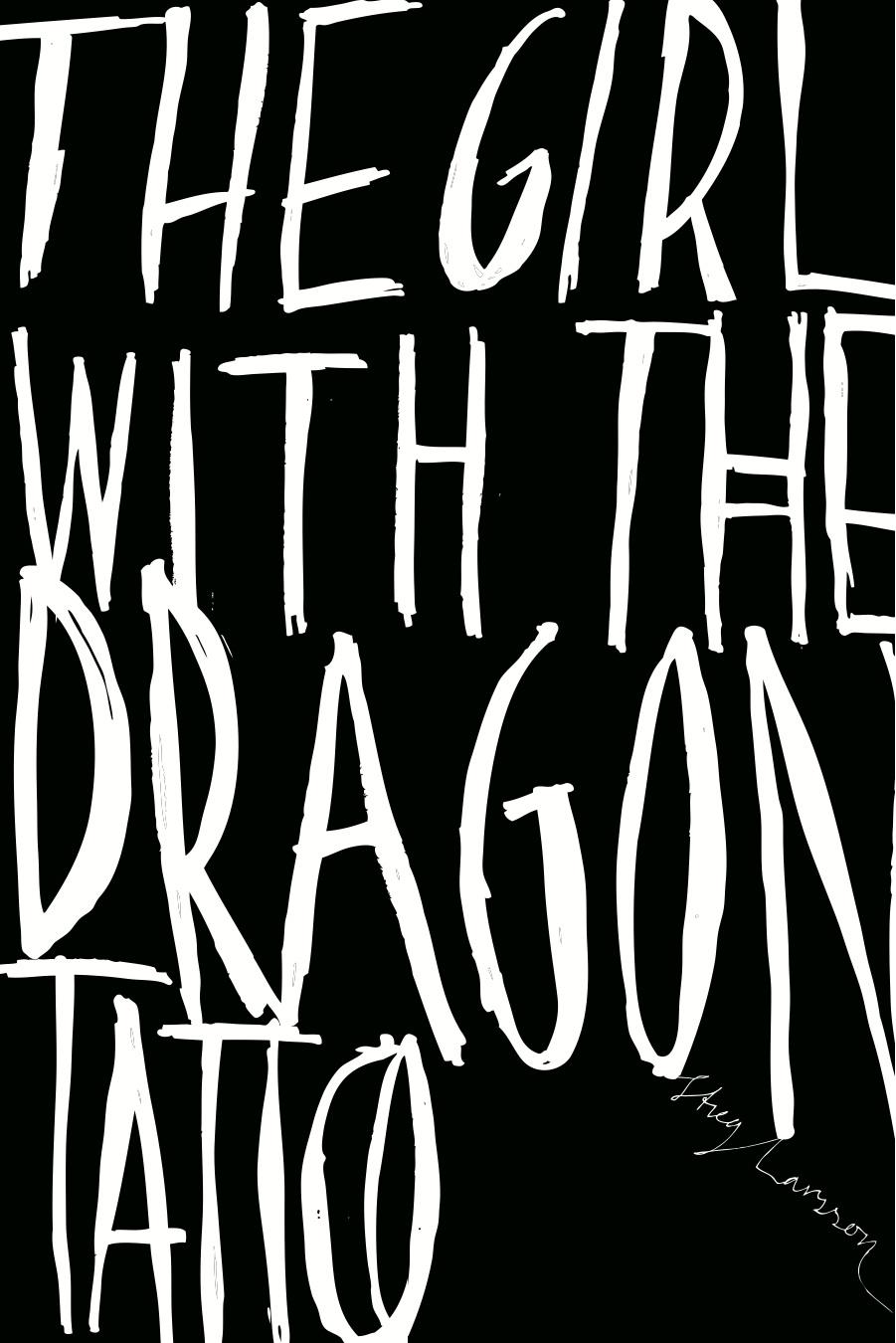 Maren Gyllenhammar Raaum's Cover for 'Girl with the Dragon Tattoo'