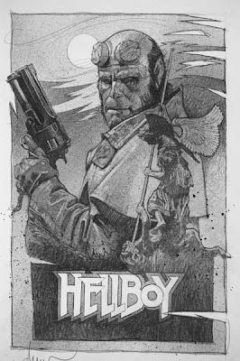 Gurney Journey Drew Struzan Paints Hellboy