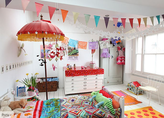 5 Colourful, Creative and Vivid Kidu0027s Rooms Primary colors, Bald