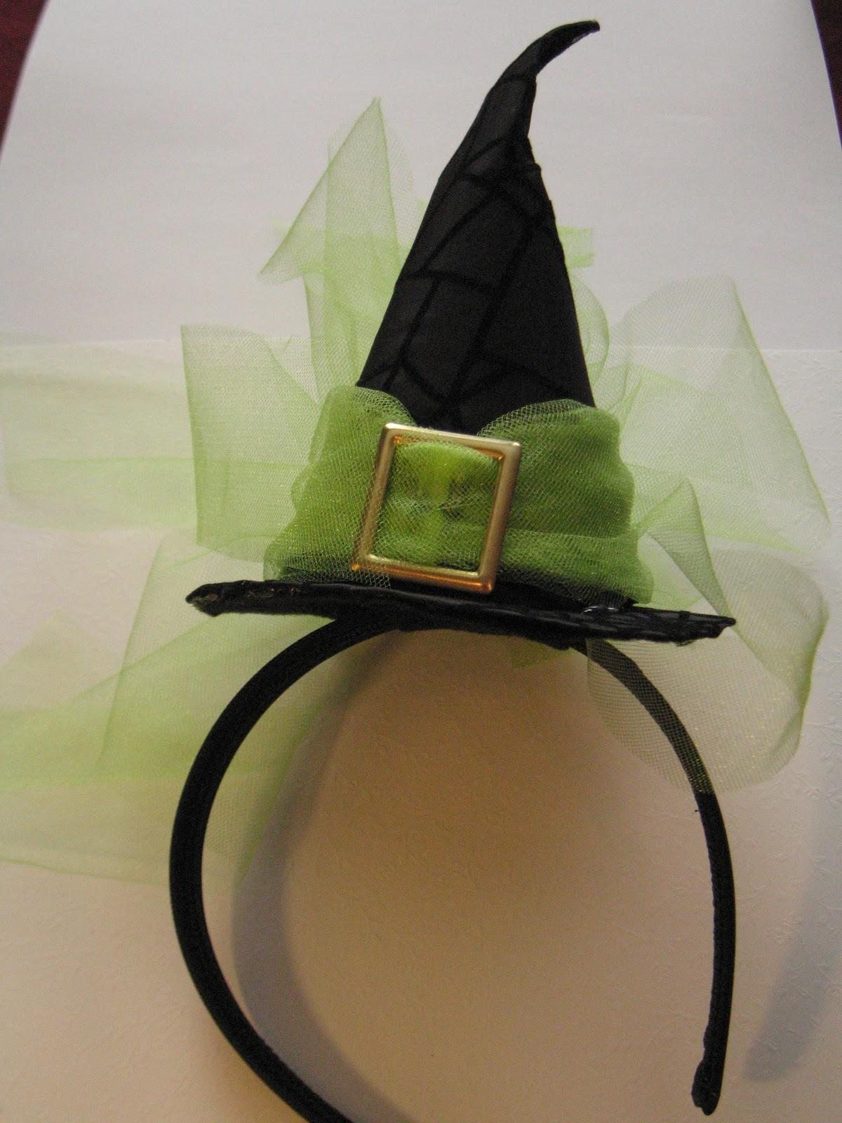Black Headband Bow