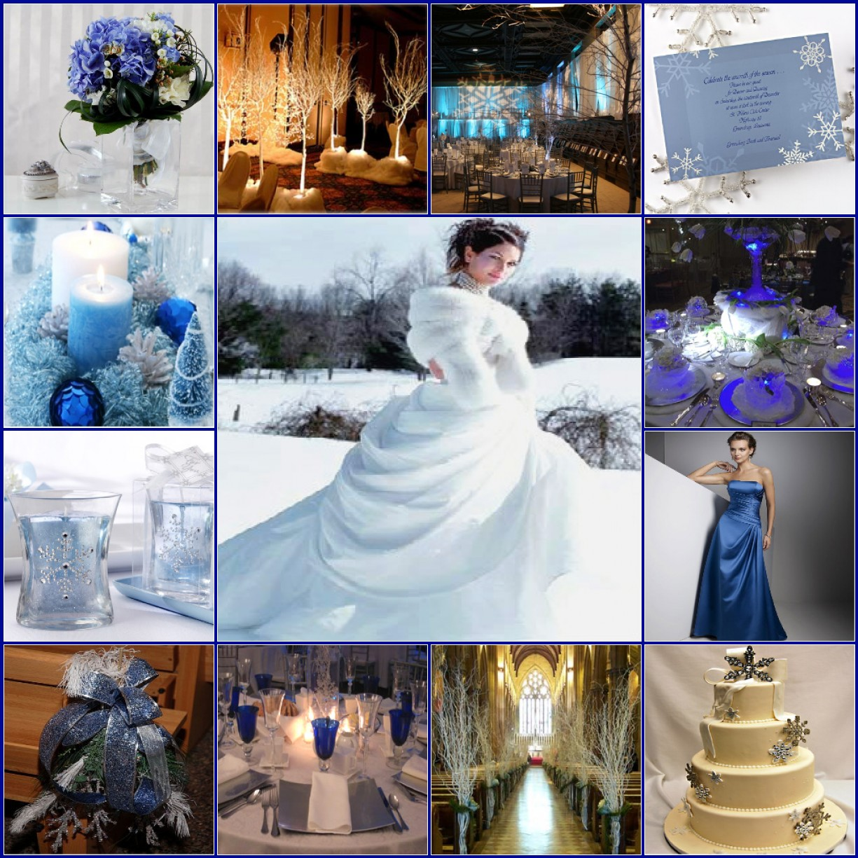Color Ideas For Weddings: Wedding Ideas For Winter