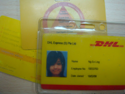 ALL ABOUT ME: goodbye DHL Express TaiSeng
