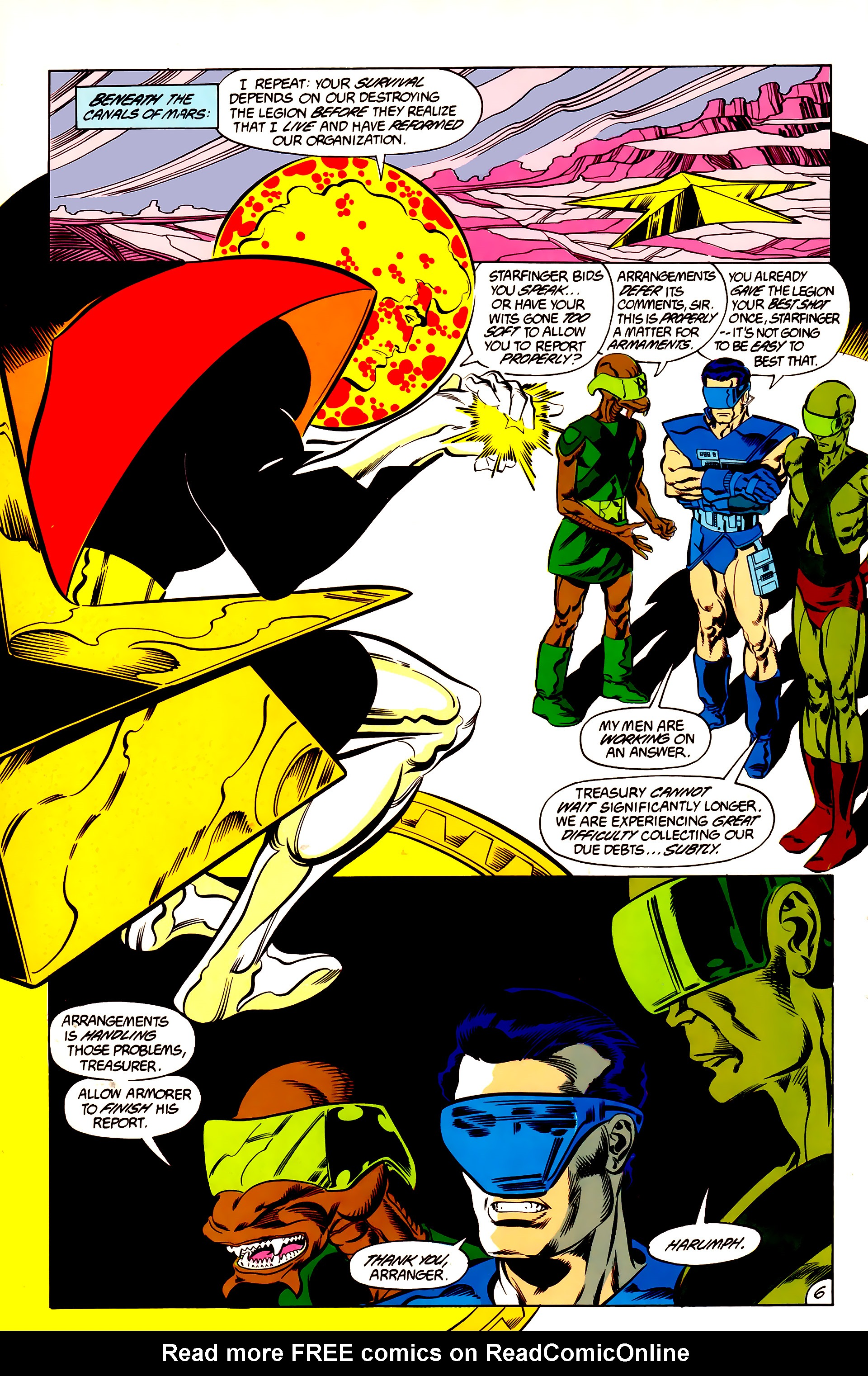 Legion of Super-Heroes (1984) 48 Page 6