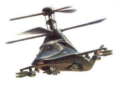 Paul Franklin: Russian 5th generation stealth helicopter?