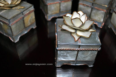Capiz Jewelry Box project of Jaypee David and Julius Mariano, Electroplating of Metals, Hand Crafts from the Philippines