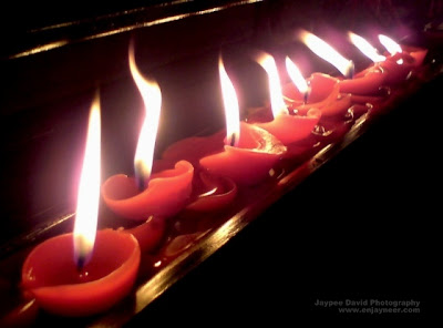 carmelite monasteries, candles, angeles city pampanga, miraculous roses, jaypee david, photography, jaytography, enjayneer