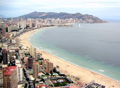 Benidorm Beach Resort, Costa Blanca, Spain, holidays, benidorm holidays, tourist destination, vacation