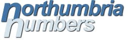 Northrumbia Numbers, Personalized Number Plates